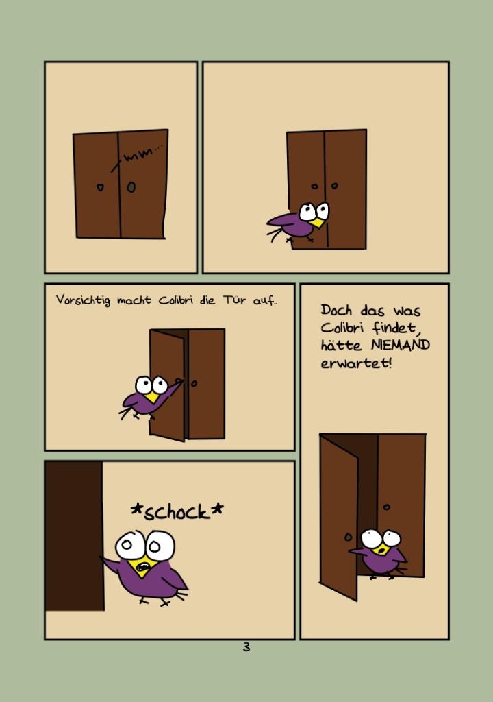 Cartoons colibri comics for Schrank comic