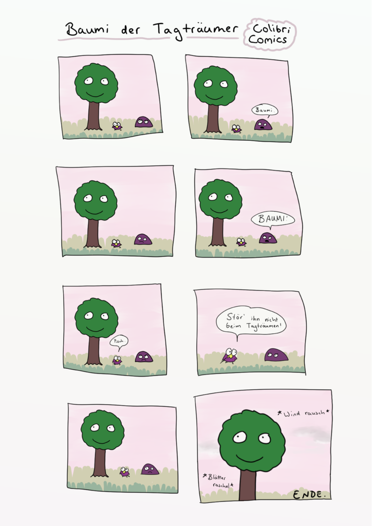 Baumi der Tagträumer Comic