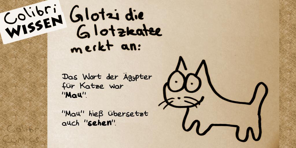 "Glotzi die Glotzkatze und ""Mau"""